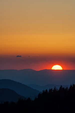 clingmans-sunset