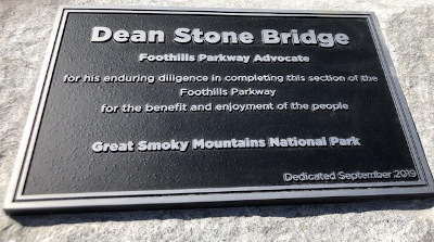 National Park Dedicates Dean Stone Bridge