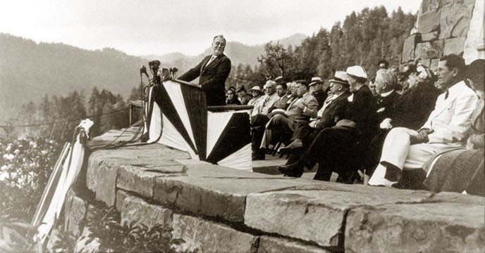 Trailside Talk: Words from FDR