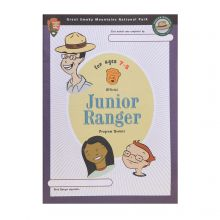 Junior Ranger Booklet for Ages 7-8