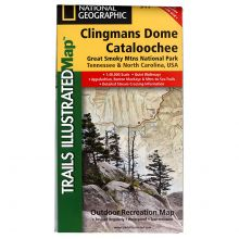 National Geographic - Trails Illustrated Map Clingmans Dome to Cataloochee