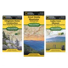 National Geographic GSMNP Map Bundle Set
