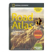 National Geographic Road Atlas Adventure Edition