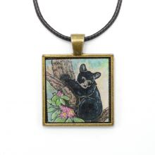 Children's Bear Necklace