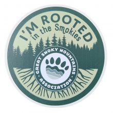 I'm Rooted in the Smokies GSMA Sticker
