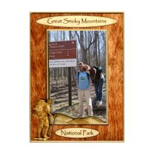 4x6 Hiker Wooden Picture Frame