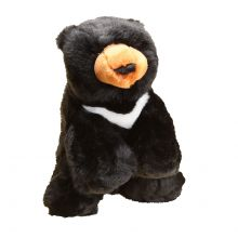 12' Wishbone the Black Bear Stuffed Plush