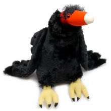 "12"" Turkey Vulture Stuffed Plush"