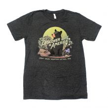 Discover Life in America Bear T-shirt