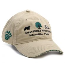 Park Logo with Paw Print Hat