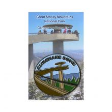 Clingmans Dome Oval Magnet