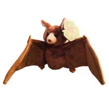 Brown Bad Plush 8 Inches