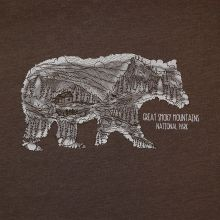 Scene in Bear T-shirt