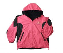 GSMNP Reversible Windbreaker Jacket - HOTPINK - 2X