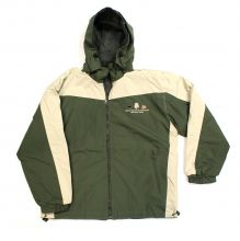GSMNP Reversible Windbreaker Jacket - OLIVE - 2X