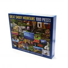 Great Smoky Mountains Collage 1000 Piece Puzzle