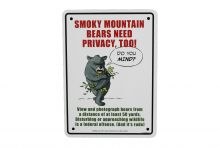 Bears Need Privacy Sign
