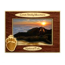 4x6 Bear Paw Wooden Picture Frame