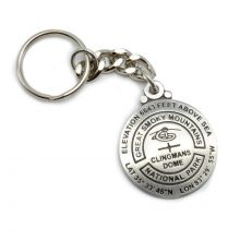Clingman's Dome Survey Marker Key Chain
