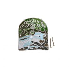 Oconaluftee River Hiking Medallion