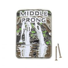 Middle Prong Trail Hiking Medallion