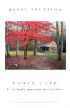 Carter Shields Cabin, Cades Cove Poster