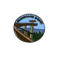 Clingmans Dome Lapel Pin