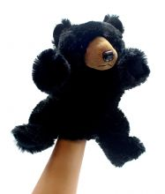 Puppet Toy, Black Bear