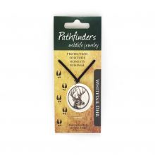 Pathfinders Wildlife Jewelry Whitetail Deer Pendant