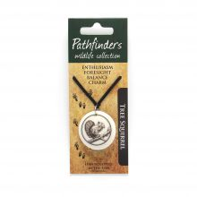 Pathfinders Wildlife Jewelry Squirrel Pendant
