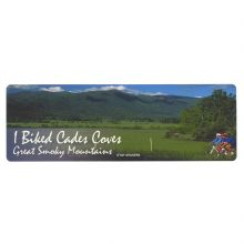 I Biked Cades Cove Sticker