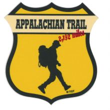 Appalachian Trail Shield Sticker