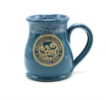 Blue Great Smoky Mountains National Park Pottery Mug