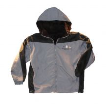 GSMNP Reversible Windbreaker Jacket - GREY - 3X