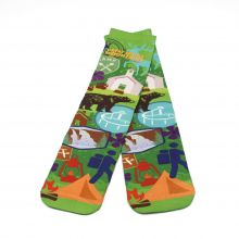 GSMNP Outdoors Pop Art Socks, Green