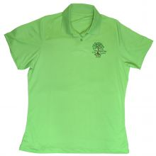Women's Vansport Omega Solid Mesh Tech Polo