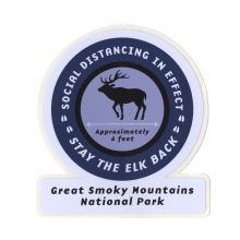 Stay the Elk Back Sticker