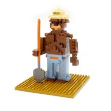 Mini Blocks Smokey Bear