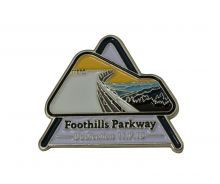 Foothills Pkway Dedication Pin