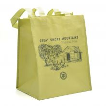 GSMNP Small Green Tote Bag