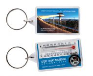 Clingmans Dome Thermometer Keychain