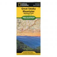 National Geographic GSMNP Map
