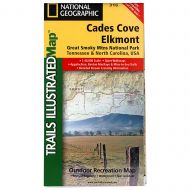 National Geographic - Trails Illustrated Map Cades Cove to Elkmont