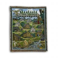 GSMNP Cades Cove Tapestry Throw Blanket