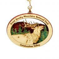 Elk Wood Ornament