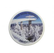 Winter Clingmans Dome Car Coaster