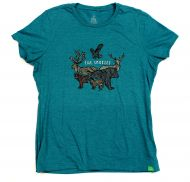 Women's Animal Badge T-shirt
