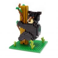 Mini Blocks Black Bear