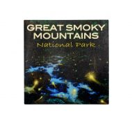 Great Smoky Mountains Fireflies Sticker- Square