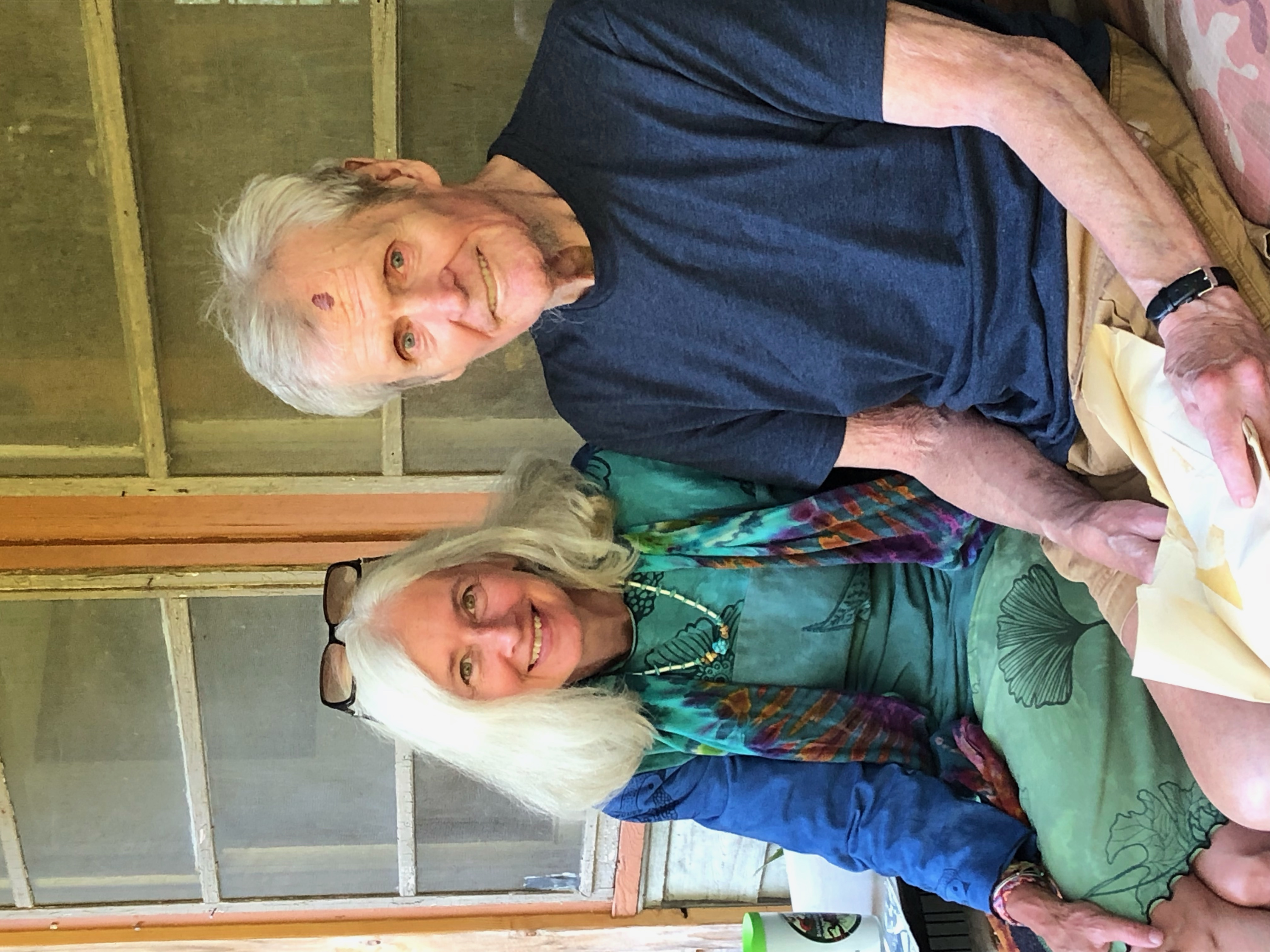 """George Ellison, whose """"Nature Journal"""" has long been a fixture of the Asheville Citizen-Times, was named one of the 100 most influential people in the history of Great Smoky Mountains National Park. He is shown here with columnist Frances Figart."""
